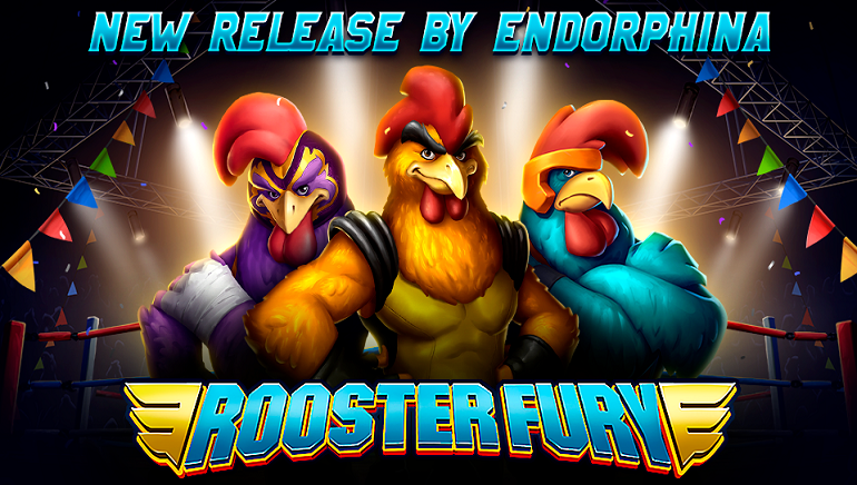 Endorphina Set To Ruffle Feathers With New Rooster Fury Online Slot