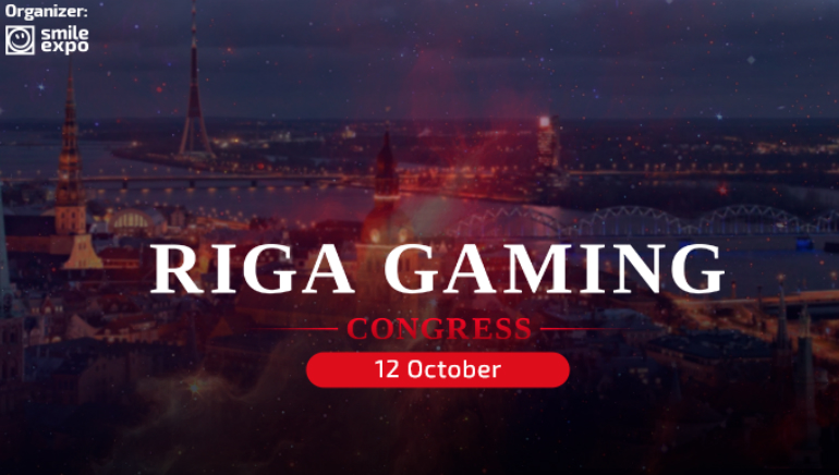 First-Ever Riga Gaming Congress to Take Place in October