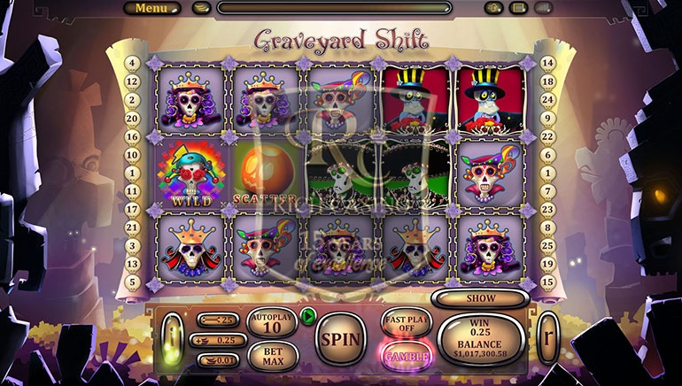 Rich Casino Launches Graveyard Shift Video Slots