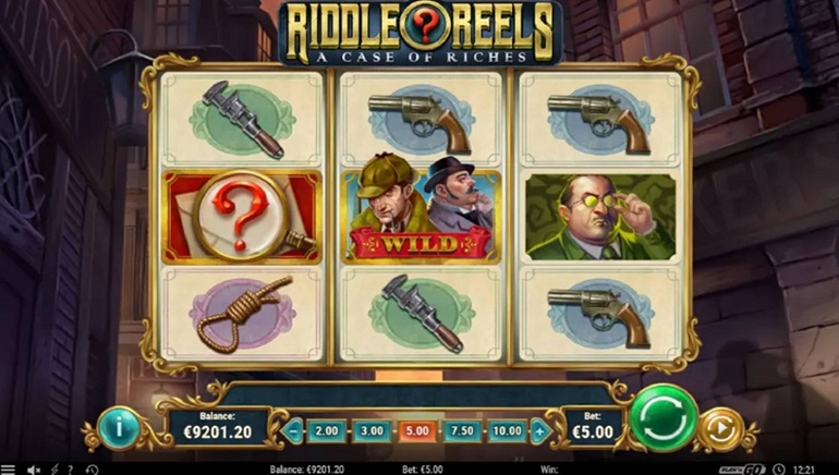 New Play'n GO Slot Release: Reel Riddles: A Case of Riches