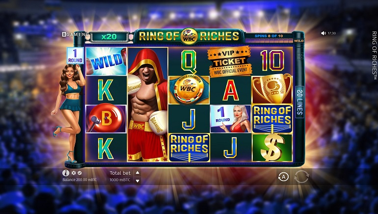 WBC Ring of Riches Slot - The Newest Release From BGaming