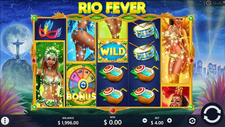 Pariplay's Rio Fever Slot Brings the Carnival Home