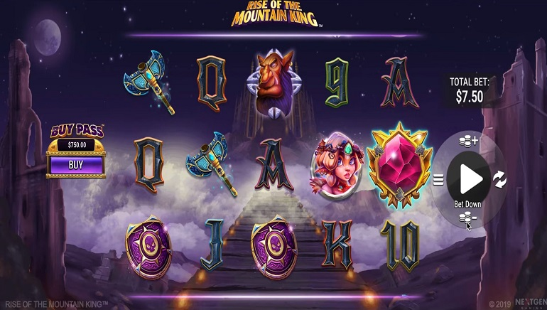 Slot Review: Rise of the Mountain King by NextGen Gaming