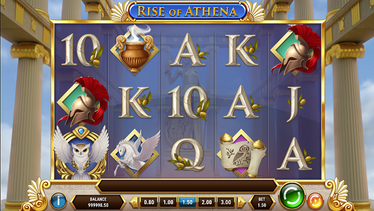 Simply Divine: Play'n GO's Rise of Athena Slot