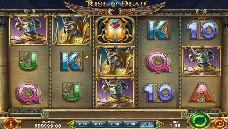 Uncover Mysteries of Book of Thoth With Play'n GO's Rise of Dead Slot