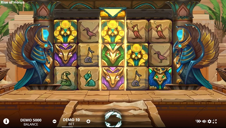 Evoplay Entertainment Unleash An Ancient Egyptian God In The Rise Of Horus Online Slot