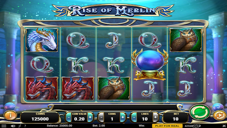 Play'n GO Conjures up The Rise of Merlin Slot Game