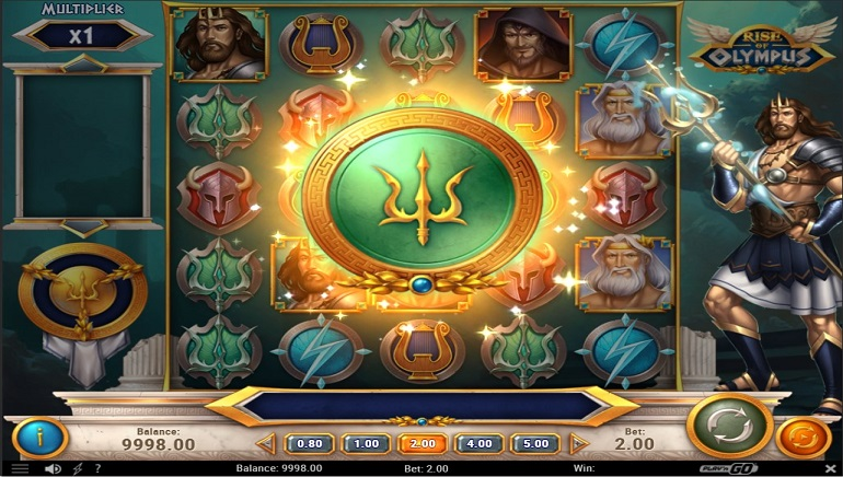 Slot Review: Rise of Olympus by Play'n GO