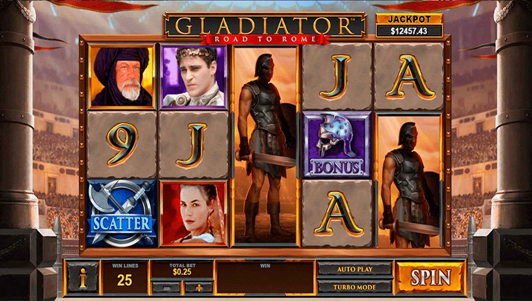Codere Casino Pays out Huge Jackpot to Player on Playtech's Gladiator: Road to Rome