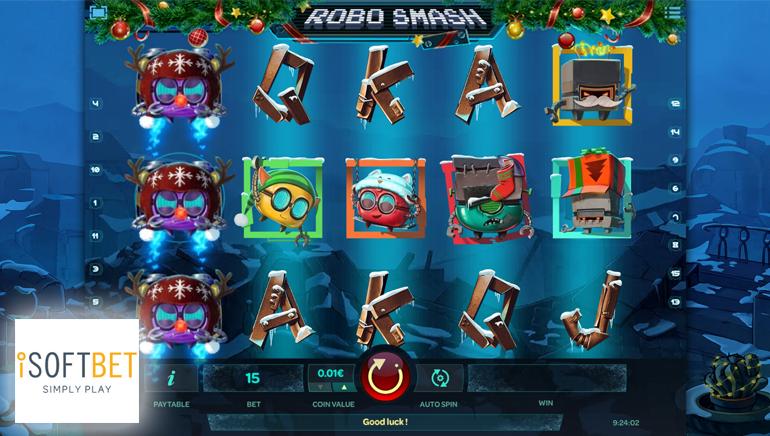 iSoftBet Gives Robo Smash the Festive Treatment