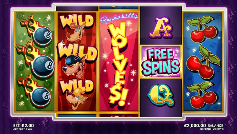 Rockabilly Wolves Slot Arrives at Microgaming Casinos