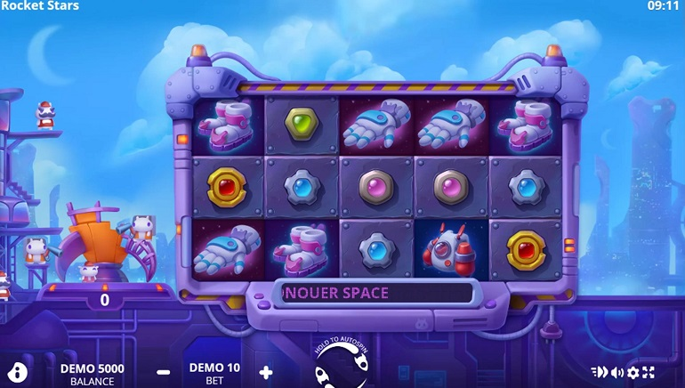 Blast Off with the Rocket Stars Slot from Evoplay