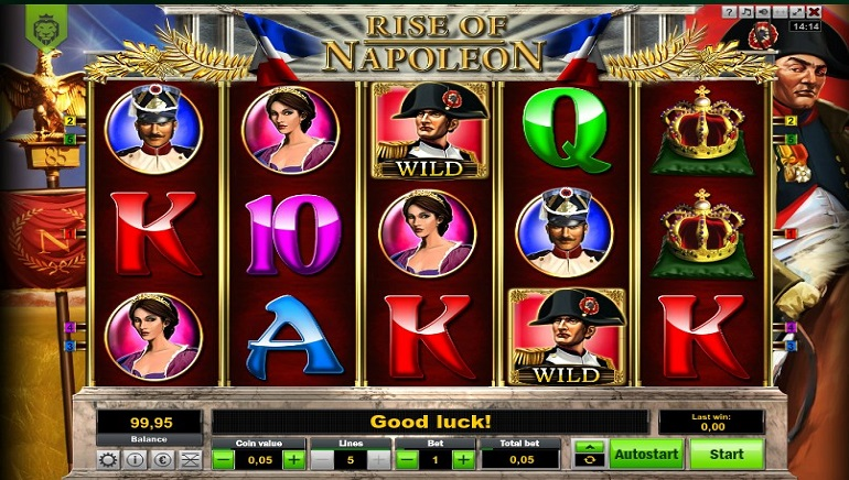 Conquer Europe with Blueprint Gaming's Napoleon – Rise of an Empire Slot