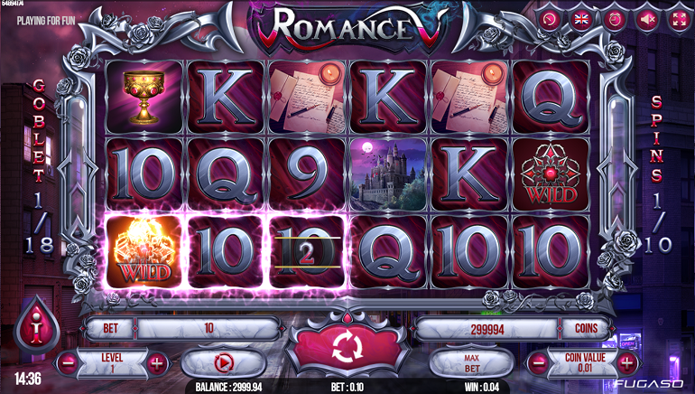 Take A Bite Out Of New Vampire-Themed Romance V Slot From Fugaso