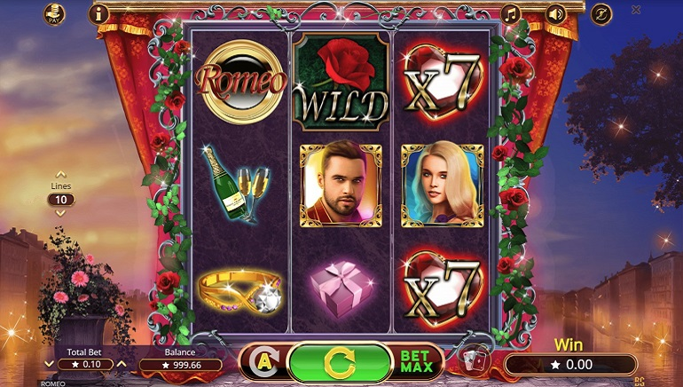 Booming Games Delivers Classic Romance with Romeo Slot