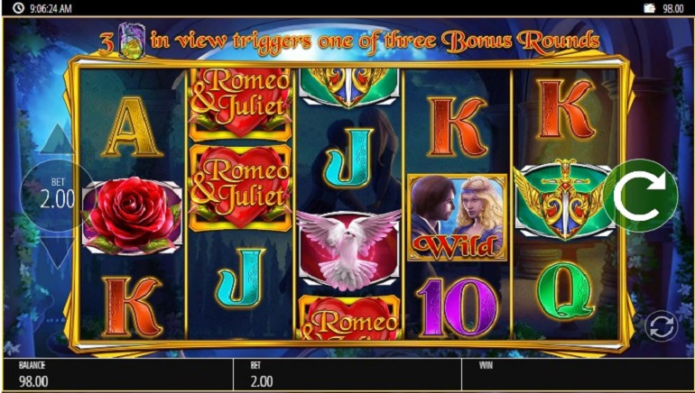 Slot Review: Blueprint Gaming's Romeo & Juliet