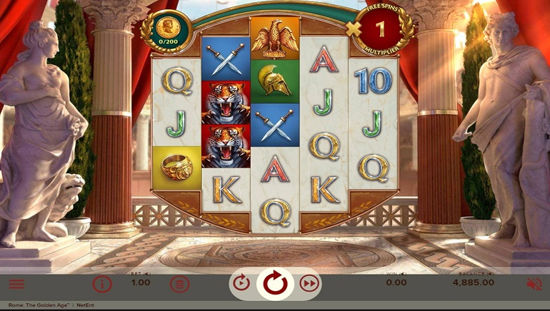 Slot Review: Rome the Golden Age by NetEnt