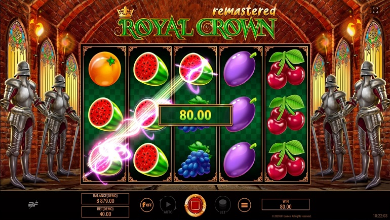 BF Games Update A Classic With New Royal Crown Remastered Slot