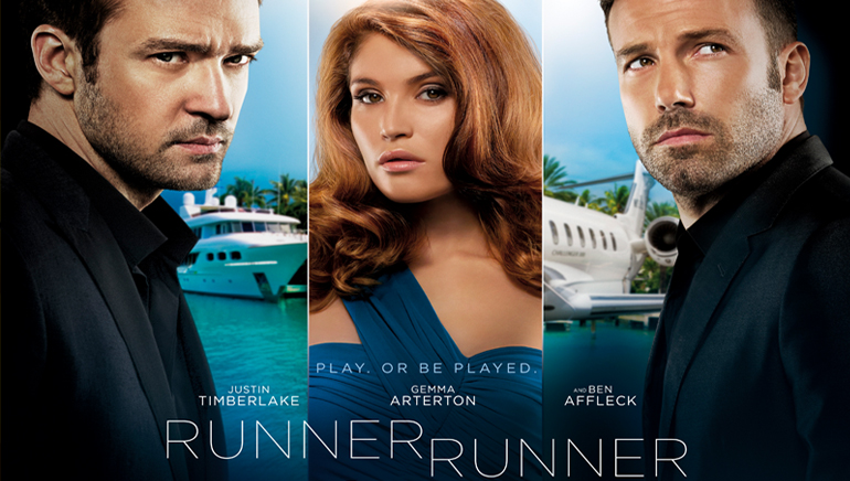 RUNNER, RUNNER Streaks Into Theatres