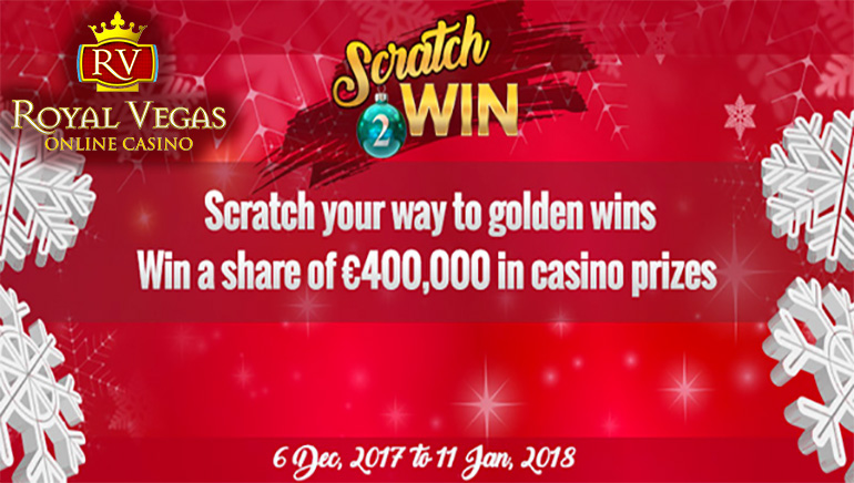 Claim a Fortune with the Royal Vegas Casino Scratch 2 Win Promotion
