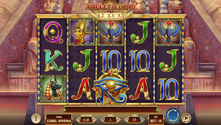 Discover Ancient Egyptian Treasures with Rich Wilde in Play'n GO's New Slot, Amulet of Dead
