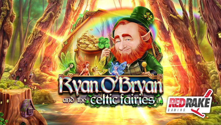 New Irish-Themed Slot From Red Rake Gaming: Ryan O'Bryan and the Celtic Fairies