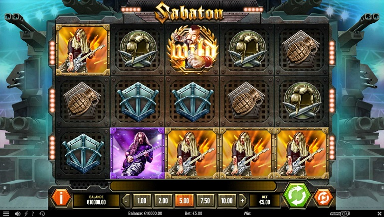 Play'n GO Releases Heavy Metal-themed Sabaton Slot