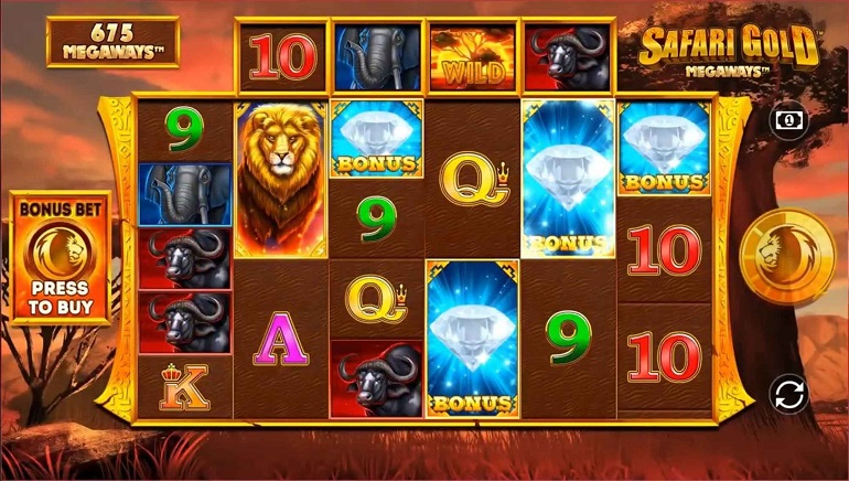 Blueprint Gaming Roars Into Action With The New Safari Gold Megaways Slot