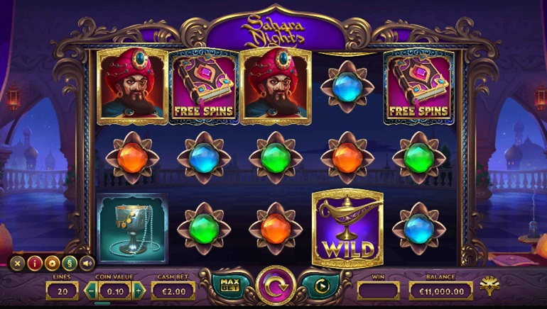 Discover Magical Genies And Mysterious Lamps With The Sahara Nights Slot From Yggdrasil