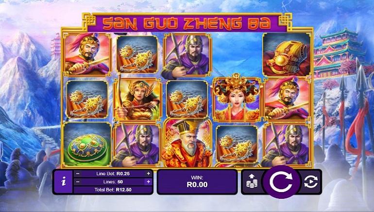 RTG's San Ghu Zheng Ba Brings Chinese Three Kingdom Wars to Casinos