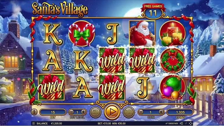 Habanero's Santa's Village Slot Arrives In Time For Christmas