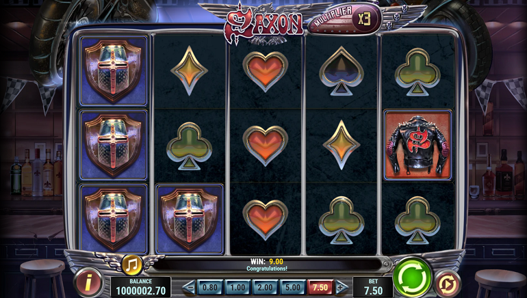 New Saxon Slot From Play'n GO Brings Classic Metal To Online Casinos