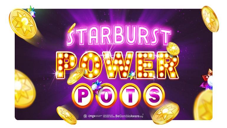 NetEnt Introduces Startburst PowerPots, New Community Jackpot System
