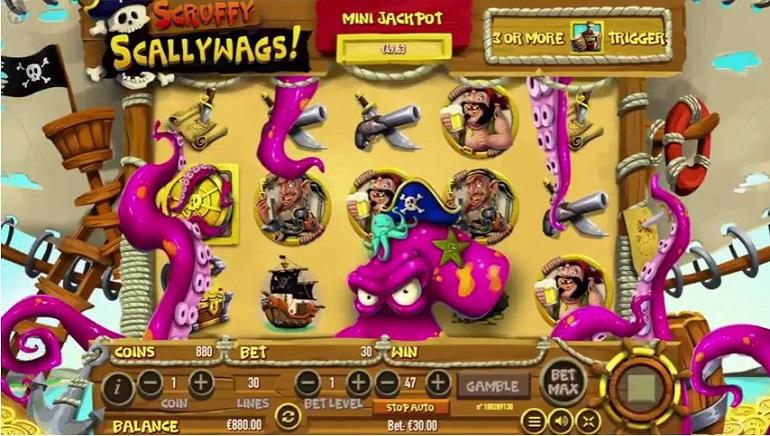 Pirate Fun in Habanero's Scruffy Scallywags