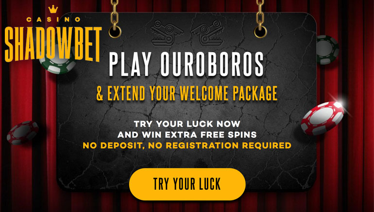 Extend Your Welcome With Ouroboros Game at ShadowBet Casino