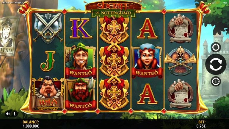 iSoftBet Takes Players on a Medieval Adventure With Sheriff of Nottingham Online Slot