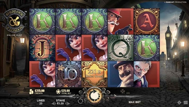 Microgaming Introduces Sherlock of London Slot to Sleuthing Fans