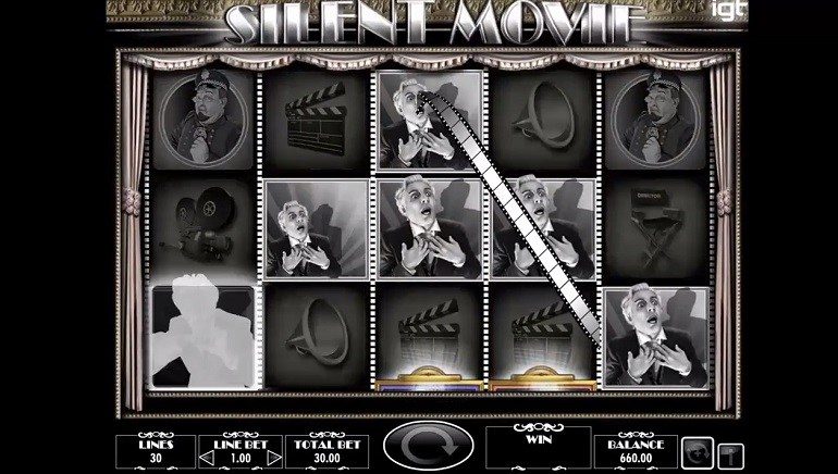 Cut! IGT Releases New Silent Movie Video Slot