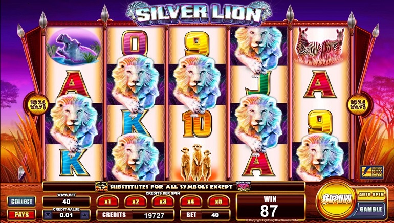 Silver Lion Slot Machine Online ᐈ Lightning Box™ Casino Slots