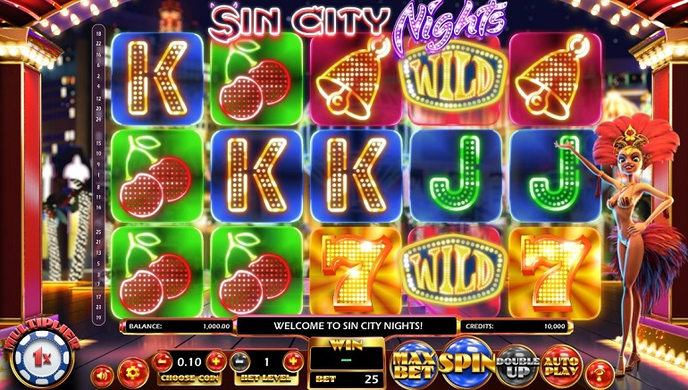 Betsoft Launches New Video Slot, Sin City Nights