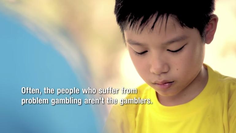Singapore anti gambling ad jimmy