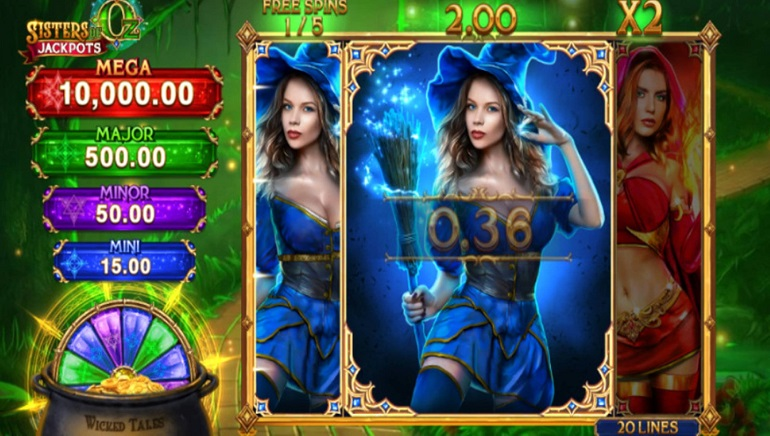 Slot Review: Sisters of Oz by Microgaming and Triple Edge Studios