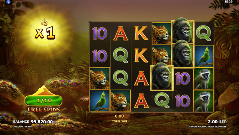 Gaming News: Slot Review: Silverback Multiplier Mountain by Just For The Win