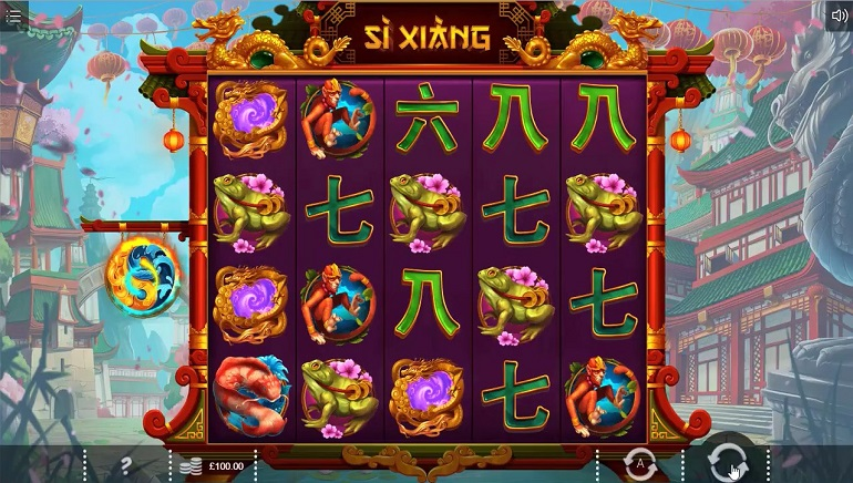 Chinese Mythology Comes To Life In Iron Dog Studio's Si Xiang Slot
