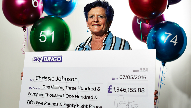 Sky Bingo Player Wins £1.3 Million on Playtech Slot