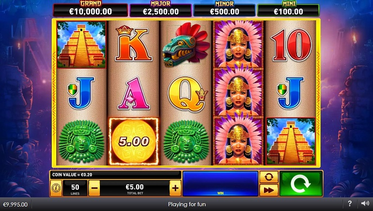 Playtech Casinos Launch Sky Queen Slot from Fire Blaze Slots Series
