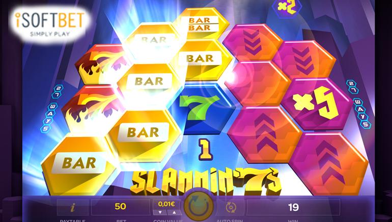 Slammin 7's Released Across ISoftBet Powered Casinos