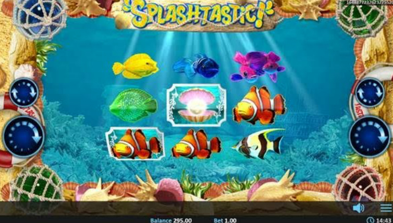 Playing the new Splashtastic! Slot from Realistic Games