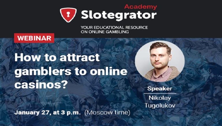 Slotegrator Webinar to Disscuss Strategies to Attract More Players
