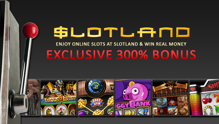 Exclusive 300% Welcome for OCR Readers at Slotland